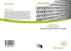 Portada del libro de HTML Editor