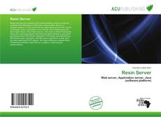 Bookcover of Resin Server