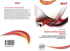 Bookcover of Suzanne Beauchamp-Niquet