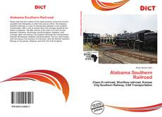 Bookcover of Alabama Southern Railroad
