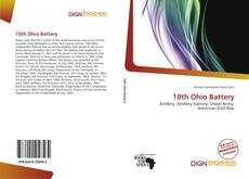 Bookcover of 10th Ohio Battery
