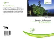 Couverture de Pascale de Boysson