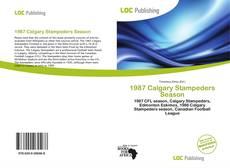 Copertina di 1987 Calgary Stampeders Season