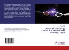Bookcover of University Technology Transfer in a Factor-driven Economy: Egypt
