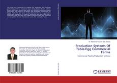 Bookcover of Production Systems Of Table-Egg Commercial Farms