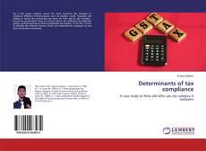 Capa do livro de Determinants of tax compliance