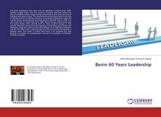 Buchcover von Benin 60 Years Leadership