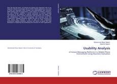 Couverture de Usability Analysis
