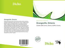 Copertina di Orangeville, Ontario