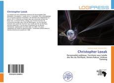 Copertina di Christopher Loeak