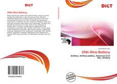Bookcover of 20th Ohio Battery