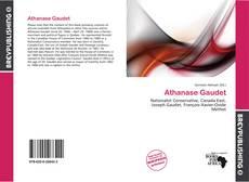 Capa do livro de Athanase Gaudet