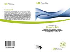 Capa do livro de Kosmos 245