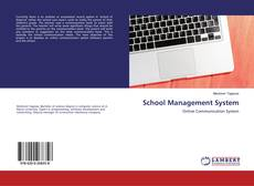 Bookcover of School Management System