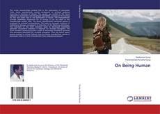 Buchcover von On Being Human