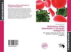 Capa do livro de Deficiency of the Interleukin-1–receptor Antagonist