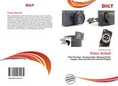 Buchcover von Peter Sollett