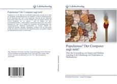 Bookcover of Populismus? Der Computer sagt nein!