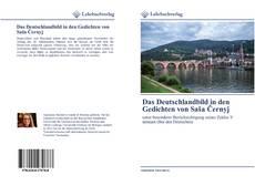 Borítókép a  Das Deutschlandbild in den Gedichten von Saša Černyj - hoz