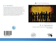 Bookcover of R. G. Springsteen