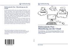 Bookcover of Elektronische Post - Dienstbezug aus der Cloud