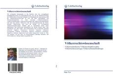 Bookcover of Völkerrechtswissenschaft