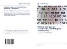 Bookcover of Digitale Anzeigen im Einzelhandel und Dialog mit Konsumenten