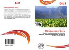 Bookcover of Mönchswalder Berg