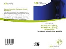 Buchcover von Paxton Township, Redwood County, Minnesota