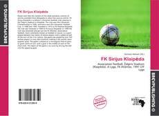 Buchcover von FK Sirijus Klaipėda