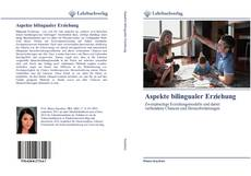 Portada del libro de Aspekte bilingualer Erziehung