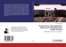 Buchcover von Performance Management Reforms in the Ghanaian Public Service