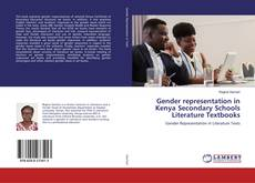 Bookcover of Gender representation in Kenya Secondary Schools Literature Textbooks
