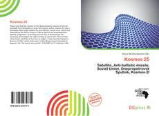 Capa do livro de Kosmos 25