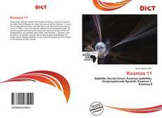 Capa do livro de Kosmos 11