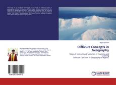Buchcover von Difficult Concepts in Geography