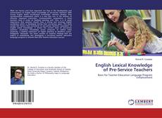 Bookcover of English Lexical Knowledge of Pre-Service Teachers