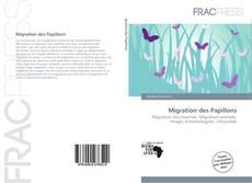 Capa do livro de Migration des Papillons