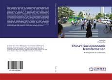 Capa do livro de China's Socioeconomic Transformation