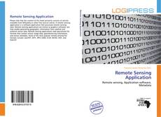 Couverture de Remote Sensing Application