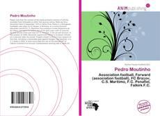 Capa do livro de Pedro Moutinho