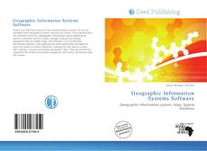 Bookcover of Geographic Information Systems Software