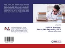 Bookcover of Medical Students' Perception Regarding OSCE