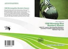 Bookcover of 1998 Winnipeg Blue Bombers Season