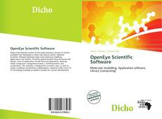 Capa do livro de OpenEye Scientific Software