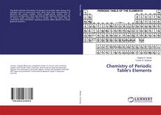Bookcover of Chemistry of Periodic Table's Elements