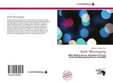 Bookcover of Bulk Messaging