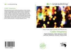 Bookcover of Cable Telephony