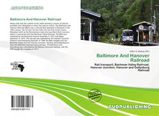 Bookcover of Baltimore And Hanover Railroad