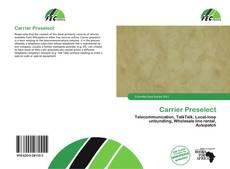 Couverture de Carrier Preselect